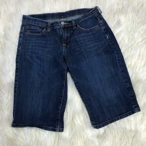 Lucky Brand Blue Jean Denim Bermuda Shorts